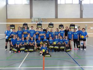 Jugend-Volleyball-Camp in Auenstein