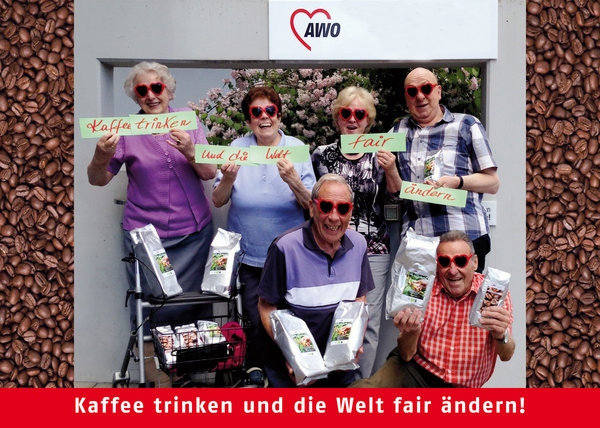senioren, pflegeheim, fairer-handel, kaffee, fairtrade, awo-international