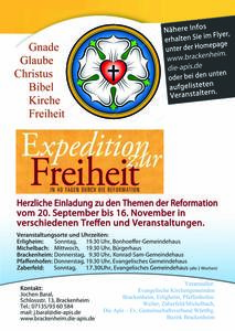 'Expedition zur Freiheit'