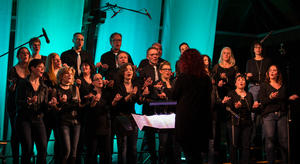 'Voiceful the choir' Kirchentour 'We will rock you', Bitzfeld ev. Kirche