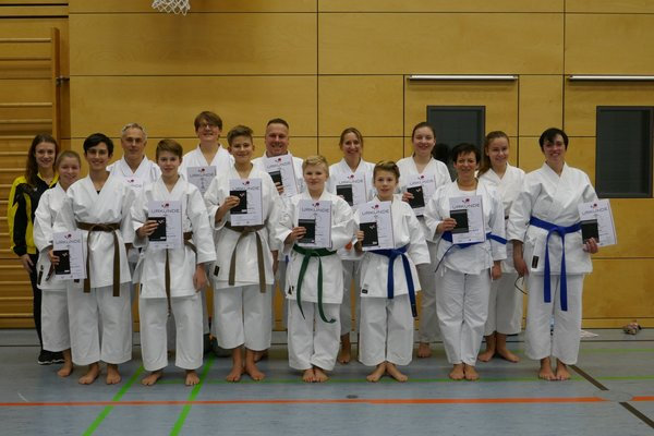 karate, neudenau, prüfung, it-franken