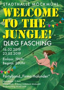 DLRG Fasching Möckmühl 'Welcome to the jungle' am 16. u. 23. Februar