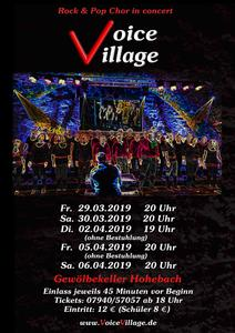 Voice Village in concert 2019