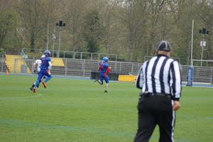 Kickoffreturn Touchdown durch Lenard Barth