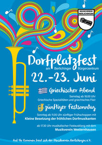 Dorfplatzfest 2019 am Bürgerzentrum in Berlichingen