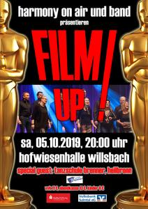 FILM UP! Filmhits mit Harmony on Air
