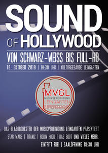 Sound of Hollywood - Konzert des MVGL-Blasorchester