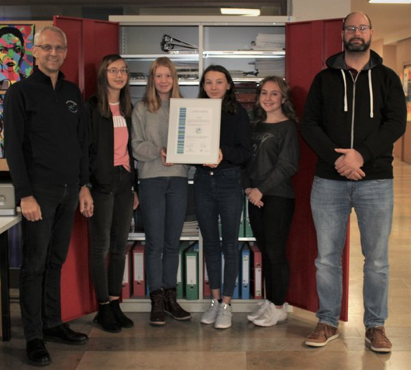 realschule-krautheim, recycling