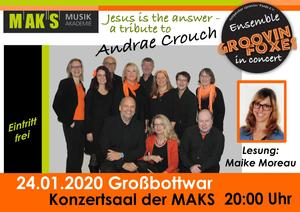 Groovin´Foxes in Großbottwar: Jesus is the answer - A tribute to Andrae Crouch