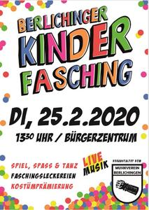 Berlichinger Kinderfasching