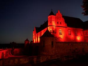 Night of Light Burg Stettenfels