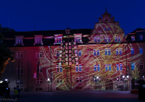 öhringen, rot, rathaus, nightoflight2020