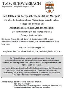 Pilates 'fit am Morgen'