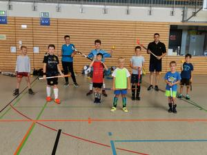 Hockey-Ferienprogramm in Pfedelbach