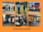 Collage Sommertour Juli 2020