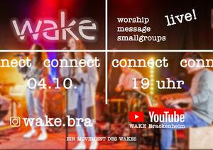 Wake connect, der Jugendgottesdienst als Livestream