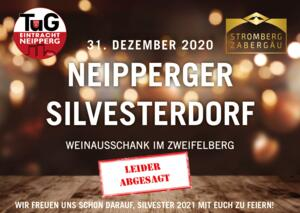 Absage Neipperger Silvesterdorf