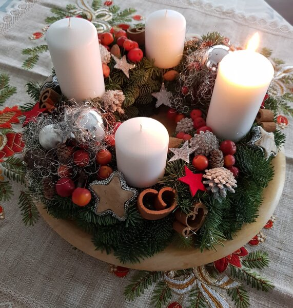 meinestimme, community, advent, print, adventskranz