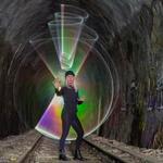 Lightpainting im Lerchenbergtunnel HN