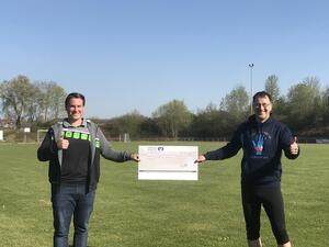 Hope for Children mit 1.500,- Spende aus Laufchallenge der Ilsfelder Fusballer bedacht